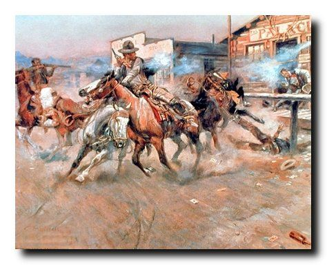This western cowboy horse's fine art print poster brings a graceful, intelligent look to any space. This poster displays the image of western cowboys with their horses is sure to catch lot of attention and goes well with western decor style. Decorate your home with this beautiful and affordable western cowboy horse's wall poster. It will be a perfect addition to your home and really makes a room look elegant. Ensures high quality with excellent color accuracy.