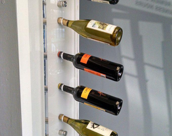 Les 25 meilleures id es de la cat gorie porte bouteilles - Porte bouteille vin mural ...