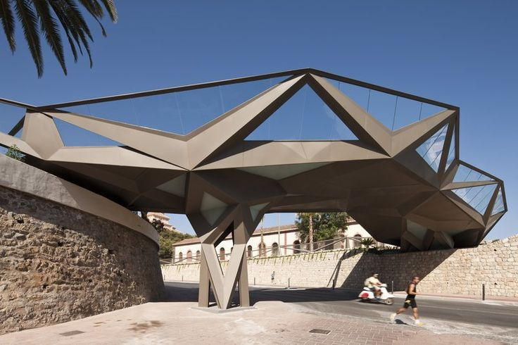 Motril Footbridge   Motril, Spain   A project by: Gijon Arquitectura