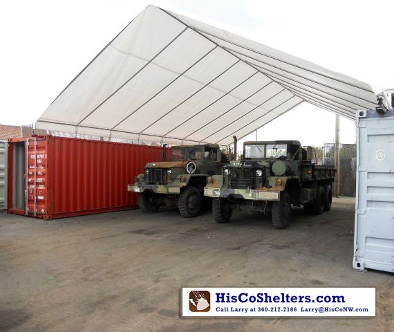 All Weather Shield Shelter Cargo Shipping Container Cover Save Hundred Make Your Own Kit Covers For One Or Cargo Shipping Portable Carport Storage Shelters