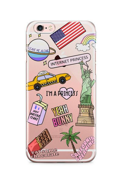 American Dream phone case ;) iPhone 5/5s - hard plastic, matte, scratch resistant,ALSO SUITABLE FOR IPHONE SE iPhone 6/6+ - soft silicone, transparent You'll