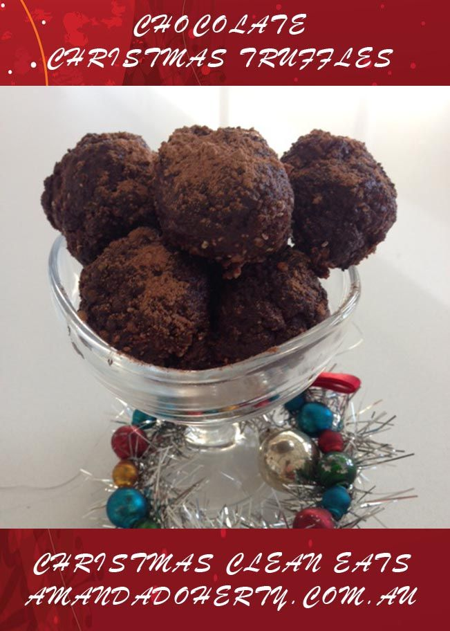 It's beginning to feel a lot like Christmas.....:D  My Christmas Choc Truffles to be featured in my upcoming eBook, Christmas Clean Eats....!  #cleaneats #cleaneating #diet #nutrition #workout