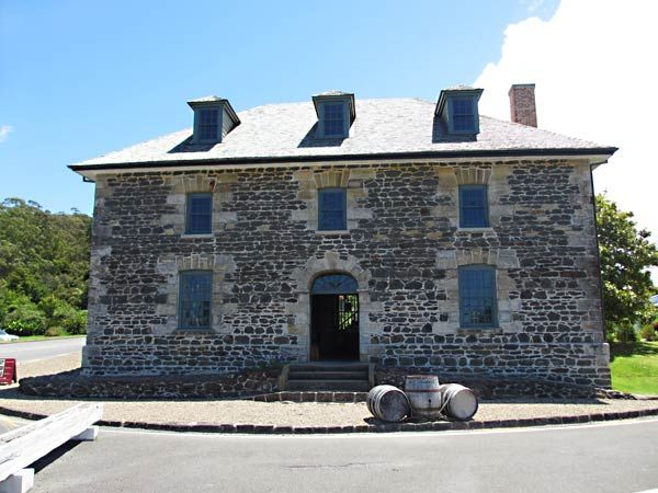 The historic Stone Store (Kerikeri Basin, New Zealand)