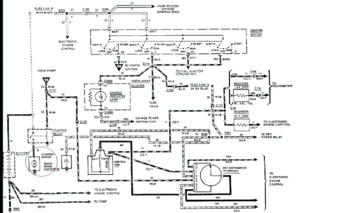 ford 300 inline 6 engine    diagram    straight f 4 9    wiring
