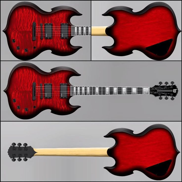Warriors Imagine Dragons Electric Guitar Tab: 17 Best Images About Guitars On Pinterest