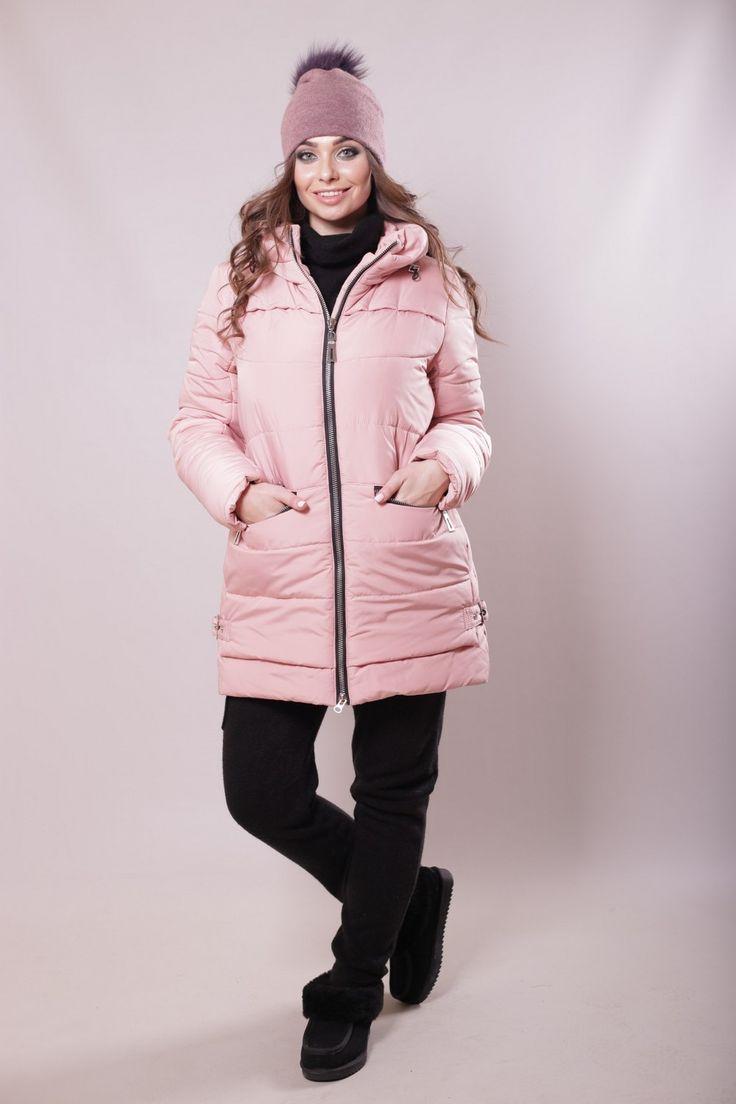 Купить зимнюю женскую Куртку-Парку оптом недорого, интернет магазин в Харькове, Киеве