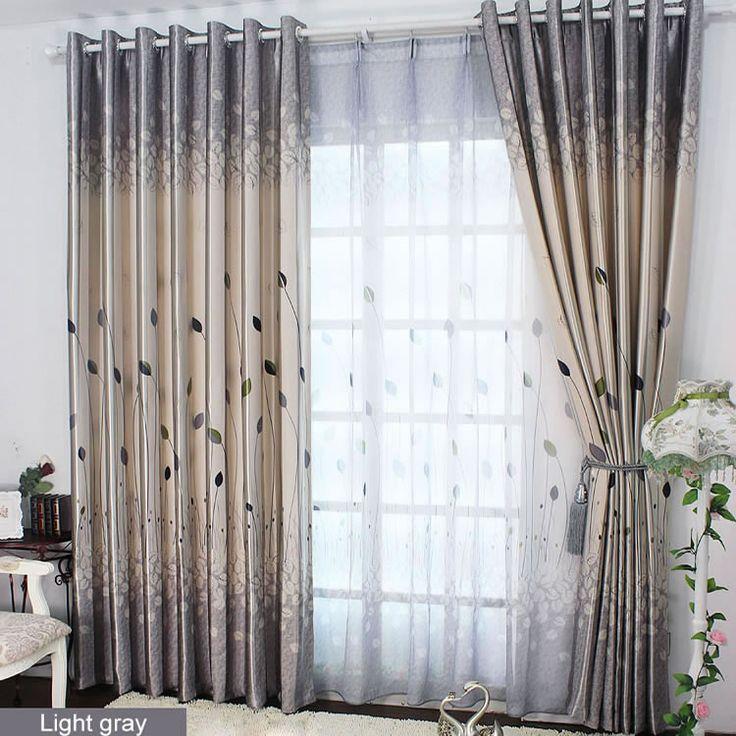 Ucuz 2015 yeni varış moda pencere perdeleri oturma odası için yaprak baskı perdeleri pastoral karartma kumaş rustik perdeler, Satın Kalite perde doğrudan Çin Tedarikçilerden:  1. fiyat içerir bir metre genişlik karartma perde ya tül.( herhangi bir uzunluk az 270 cm)2. eğer boyutu değil si