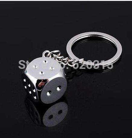 Металл кости брелоки металл ключ кулон подвески кольцо для ключей подарок