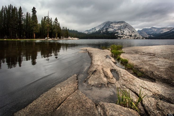 Yosemite lake. I only spent 2 days in Yosemite national park on my last visit. I'd love to go back.