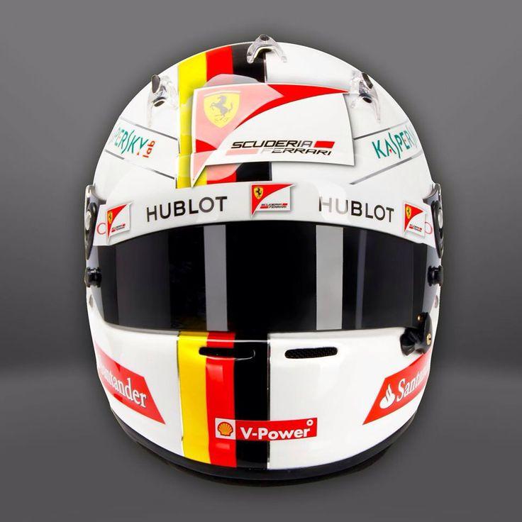Design Helm 52 best sebastian vettel helmet design 2015 images on