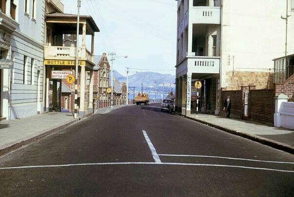 Main Road, Muizenberg, Cape Town. c1963