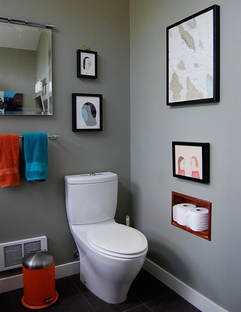 toilets: Toto, dual flush.   also - art right above tp!