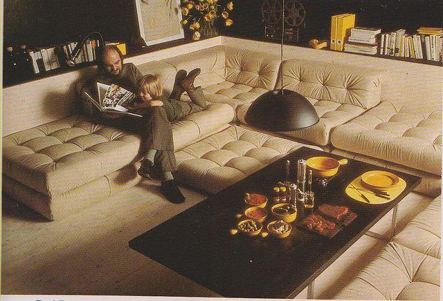 Sunken Sofa