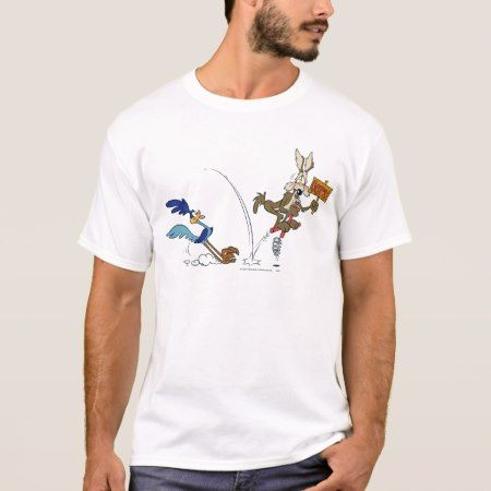 Wile E Coyote and ROAD RUNNER™ Acme Products 7 T-Shirt - tap to personalize and get yours
