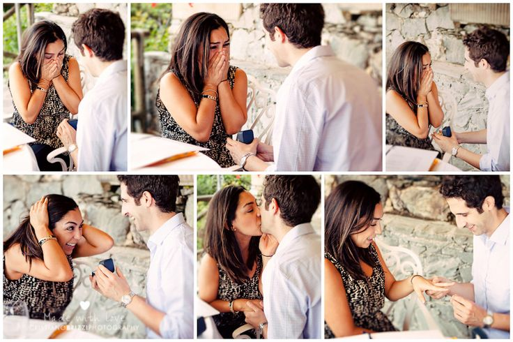 Proposta di matrimonio al profumo di Liguria
