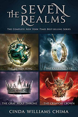Seven Realms: The Complete Series, The: Collecting The Demon King, The Exiled Queen, The Gray Wolf Throne, and The Crimson Crown (Seven Realms Novel, A) #eReaderIQ