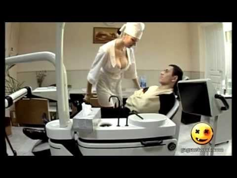 Busty Dentist's Distractions - Best Funny Gags - YouTube