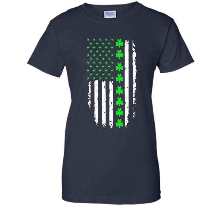 St. Patrick's Day Irish American Flag Shirt