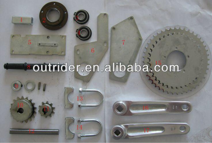 Outrider Jackshaft shifter kit for gasoline engine / 80cc bicycle engine kit