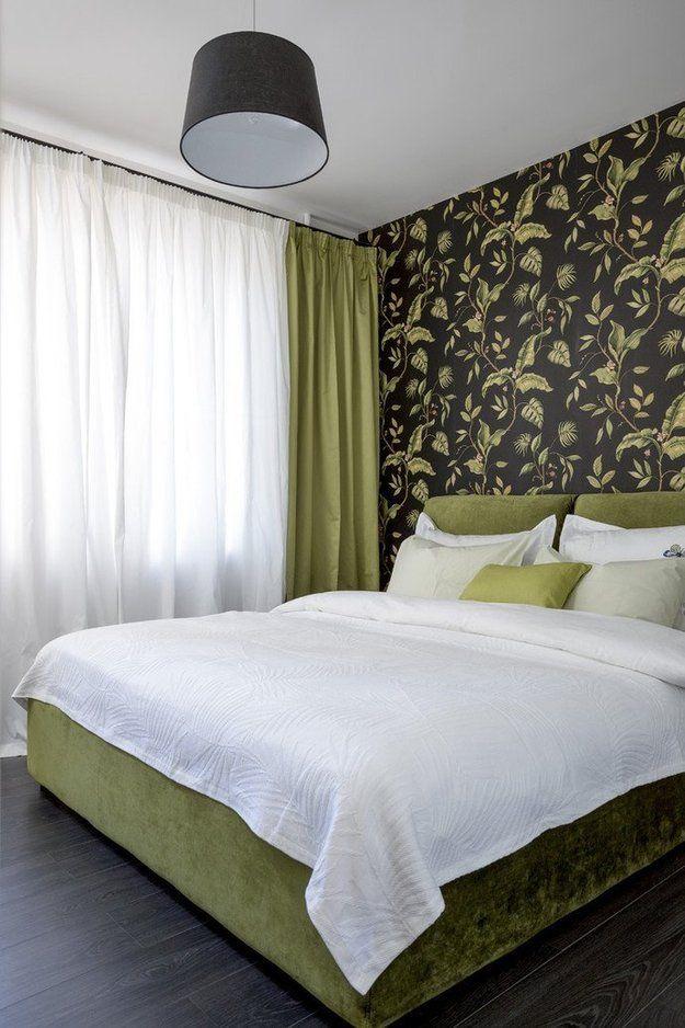 Фотография: Спальня в стиле Современный, Декор интерьера, DIY, Малогабаритная квартира, Квартира, Белый, Бежевый, Серый – фото на InMyRoom.ru