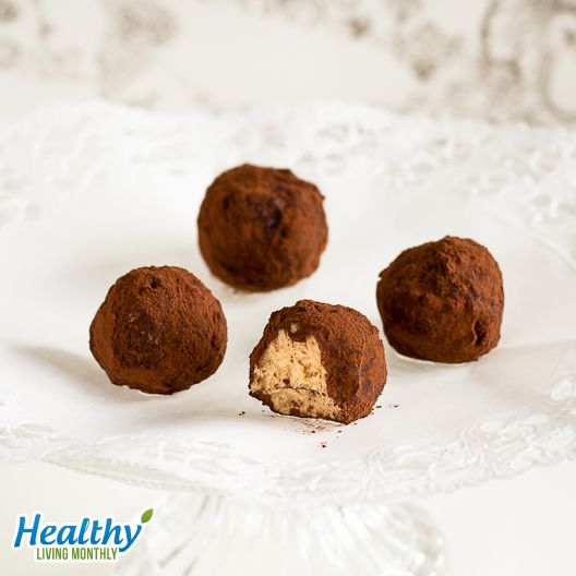 """""""I-Want-More"""" Tiramisu Fat Bombs from the September 2015 issue of Healthy Living Monthly newsletter: https://gum.co/sDus"""
