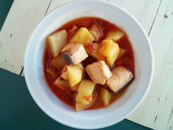 Marmitako de salmón (receta vasca), Receta Petitchef