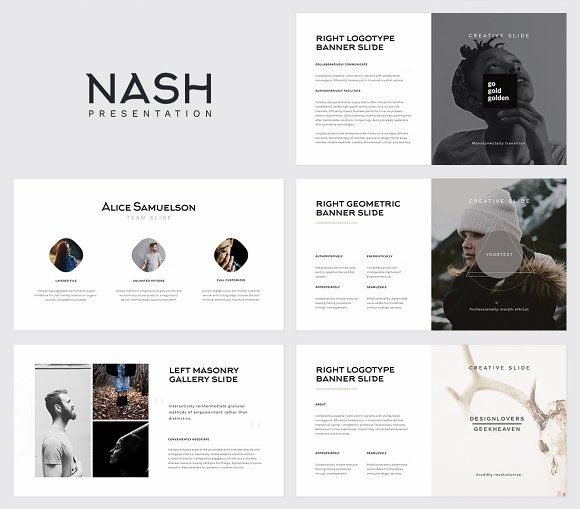 NASH Keynote Presentation / GIFT by @GoaShape #GraphicDesign #Marketing #Trending #inspiration