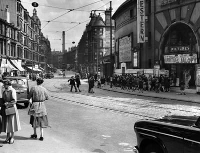 Glasgow, Scotland, Estimated late 1940's or early 1950's.