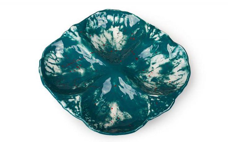 Ceramic dish — глиняное блюдо ручной работы на заказ