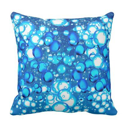 Bubble image for Polyester Throw Pillow - image gifts your image here cyo personalize
