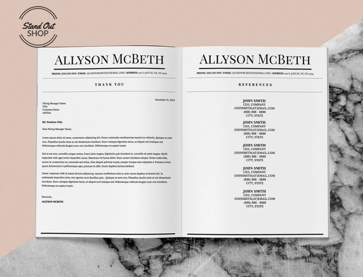Best Allyson Mcbeth Resume Template Images On   Apple