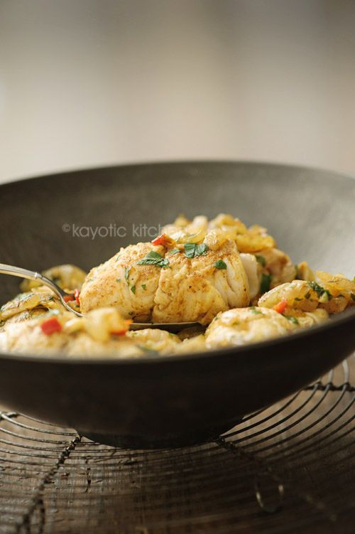 Surinamese Fish Masala ~ reading this recipe is making my mouth water!
