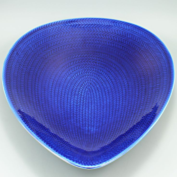 "Hertha Bengtsson (1951) Iconic ""Blue fire"" gigantic dish"
