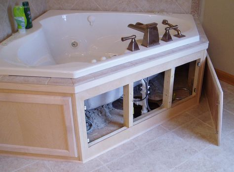 Garden Bathtub Master Bath Decor