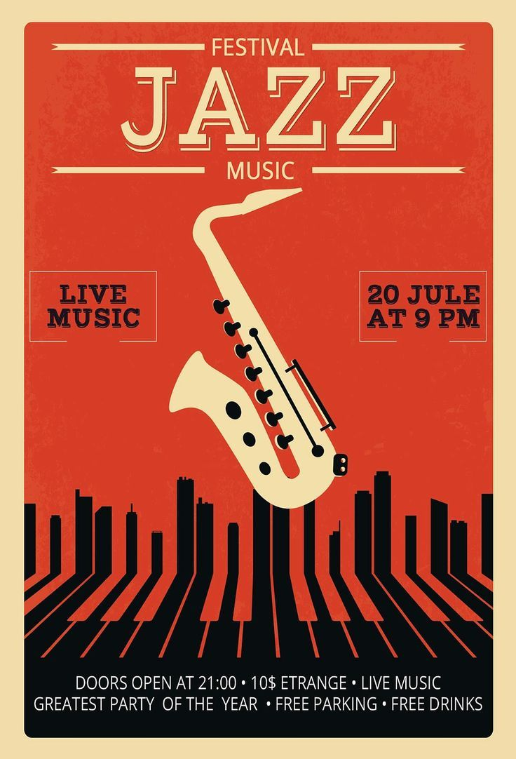 Size: - inch + bleed - inch + bleed - inch + bleed Description: - fully layered PSD files - Drawn in Photoshop CС - Festival Jazz, Montreux Jazz Festival, Festival Posters, Concert Jazz, Concert Flyer, Jazz Art, Jazz Music, Jazz Poster, Gig Poster