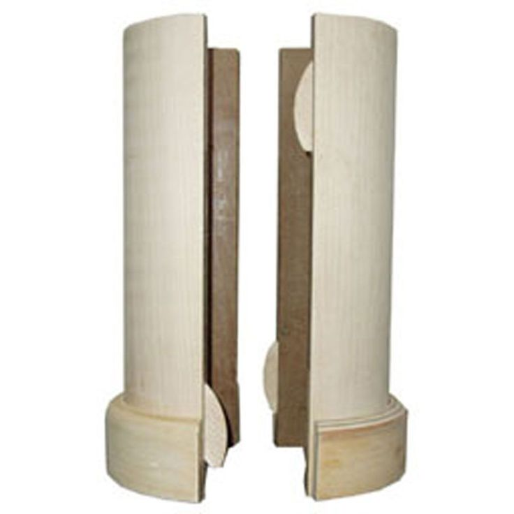 5 1/2-Inch X 96-Inch Lally Column Cover, With Top & Bottom