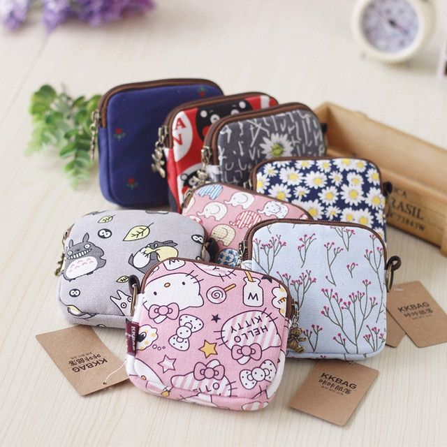 Lovely Mini Fashion Cartoon Owl Coin Money Bag Purse Travel Wallet Women Girls