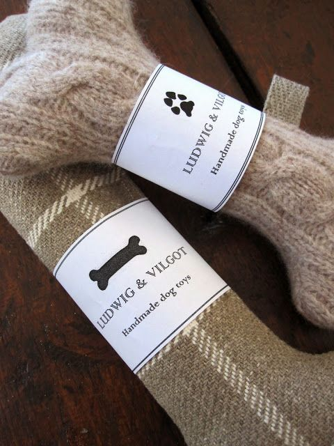 Ludwig & Vilgot - Handmade dog toys - beautiful,  but Dex would comp through that in minutes!