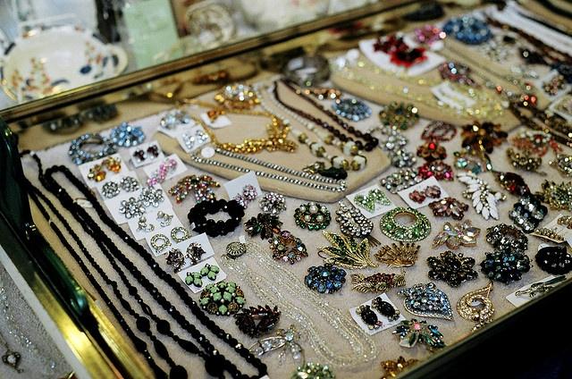 lots of vintage sparkle