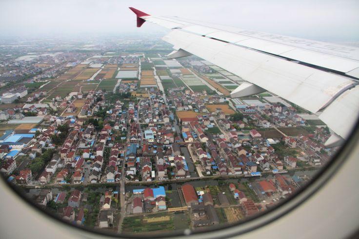 5172a Landing at Shanghai.