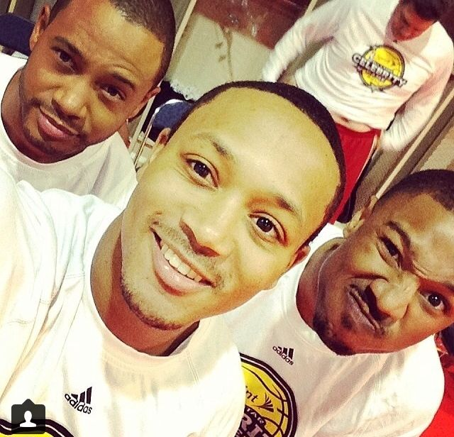 Michael B Jordan, Romeo Miller, and Terrence Jenkins. (from Romeo's instagram)