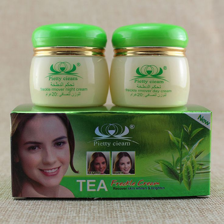Green  tea  face Cream Removes Pigment Freckle skin moisturizing