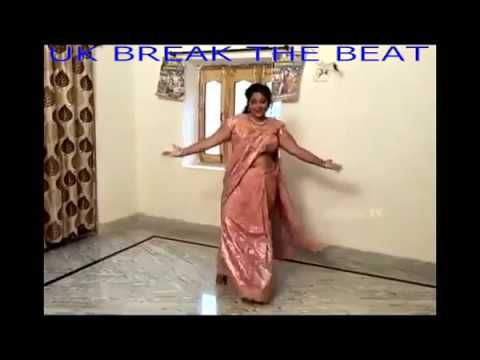 Indian Aunty Dance Practice for her son wedding at home when she was alone,