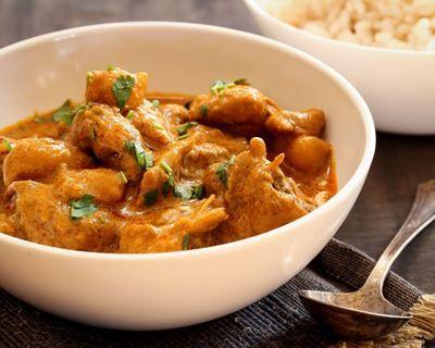 Curry de poulet à l'huile essentielle de citronnelle