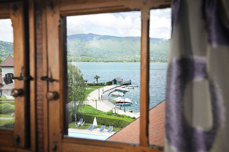 #chateauhotelscollection #rooms #hotel #talloires #annecy #lake #lac #mountains #montagne #detente #loisirs #vacances #decoration #roomwithview