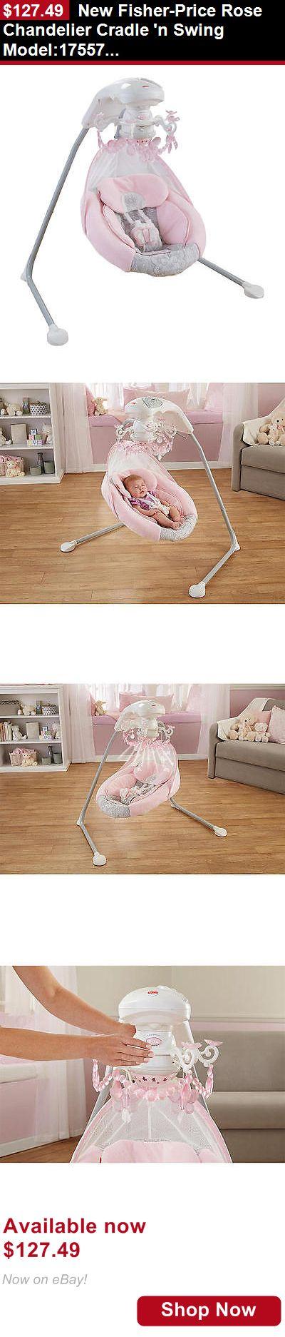 Baby swings: New Fisher-Price Rose Chandelier Cradle N Swing Model:17557628 BUY IT NOW ONLY: $127.49