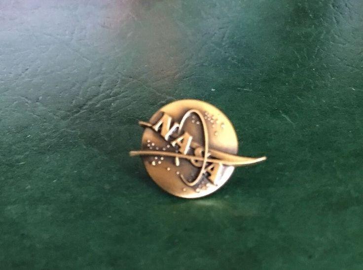 NASA Vector Logo Pin Official NASA Space Program Limited Edition