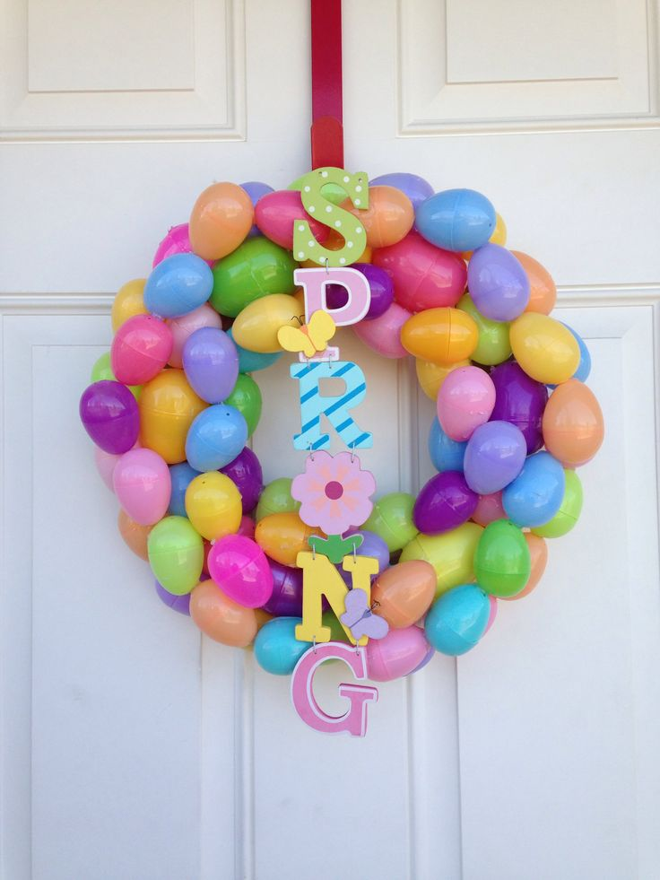 My Easter/Spring wreath
