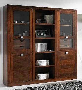 1000 images about muebles de salon comedor en madera de - Vitrinas de madera para comedor ...