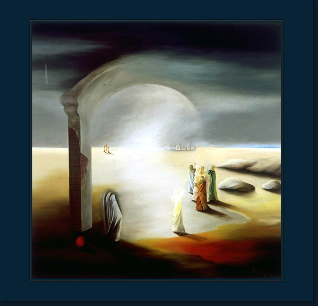 Elidal by R. Papa. Her paintings always reminds Me about My idol, Salvador Dali.Time Oilcanva, Ruxandra Papa, Part Of Painting, Painting Ruxandra, Time Oil Canvas, Oil Painting, Time Favorite, Inspiration Painting